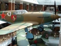 ÖvrePyshma, Ryssland - Juli 02, 2016: Inre av museet av militär utrustning Royaltyfria Foton