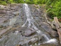 ÖvreWhiteoak nedgångar i den Shenandoah nationalparken Fotografering för Bildbyråer