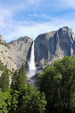 ÖvreYosemite nedgång Yosemite, Yosemite nationalpark Royaltyfri Foto