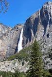 ÖvreYosemite nedgång Yosemite, Yosemite nationalpark Royaltyfria Bilder
