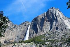 ÖvreYosemite nedgång Yosemite, Yosemite nationalpark Royaltyfri Fotografi