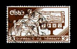 2ø aniversário da constituição irlandesa, serie, cerca de 1958 Imagens de Stock