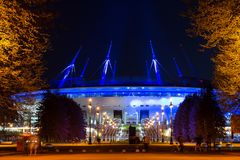 2ø campeonato do mundo 2018 de FIFA Arena SPb de Zenit do estádio Fotos de Stock Royalty Free