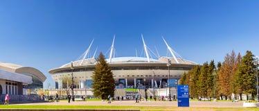 2ø campeonato do mundo 2018 de FIFA Estádio St Petersburg Fotos de Stock
