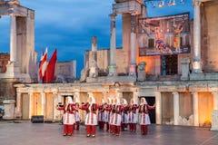 2ø festival internacional em Plovdiv, Bulgária Imagens de Stock Royalty Free