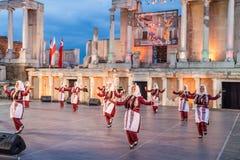 2ø festival internacional em Plovdiv, Bulgária Imagens de Stock