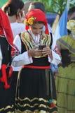 2ø festival internacional Vitosha 2017 do folclore Fotos de Stock Royalty Free