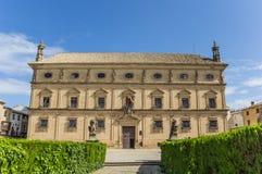 Úbeda Palacio de las Cadenas Imagen de archivo