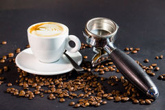 Última bebida del café Imagen de archivo libre de regalías