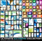 Última colección extrema de tarjetas de visita libre illustration