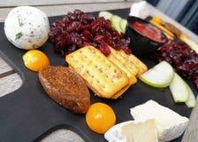 Última placa de queso Foto de archivo libre de regalías