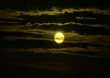 Última salida del sol Foto de archivo libre de regalías