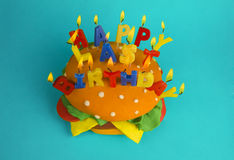 Último aniversário feliz Fotos de Stock Royalty Free