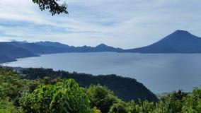 Último Atitlan Guatemala Imagen de archivo libre de regalías
