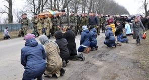 Último _18 de Ruslan Kotsyuk da estrada Imagem de Stock