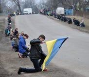 Último _23 de Ruslan Kotsyuk da estrada Imagem de Stock