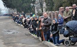 Último _29 de Ruslan Kotsyuk da estrada Imagens de Stock Royalty Free