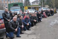 Último _31 de Ruslan Kotsyuk da estrada Imagem de Stock