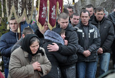 Último _45 de Ruslan Kotsyuk da estrada Imagem de Stock Royalty Free