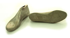 Último del aluminio del fabricante de zapato Fotografía de archivo libre de regalías
