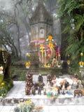 Último del monumento el rey de Chiangmai Foto de archivo libre de regalías