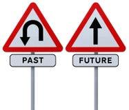 Último y futuro Imagen de archivo libre de regalías