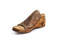 Últimos de madera del zapato aislados en el fondo blanco Fotos de archivo