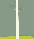 Única árvore Imagens de Stock