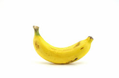 Única banana Fotografia de Stock Royalty Free