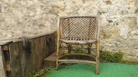 Única cadeira Fotos de Stock Royalty Free
