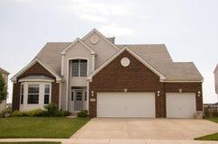 Única casa nova da família Imagem de Stock Royalty Free