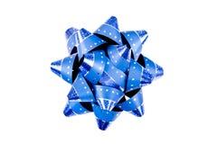Única curva azul do Natal de Lavy Fotografia de Stock Royalty Free