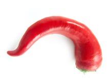 Única paprika, trajeto de grampeamento Fotografia de Stock Royalty Free