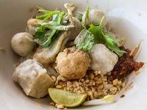 Única refeição chinesa Fotografia de Stock Royalty Free