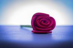 Única Rosa Imagens de Stock Royalty Free