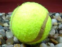 Únicas bolas de tênis Imagem de Stock