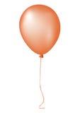 Único balão de ar de recolhimento alaranjado do evento ilustração royalty free