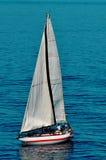 Único barco de navigação Fotos de Stock
