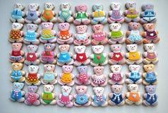 Único, colorido, galletas de la miel Fotos de archivo