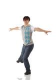 Único dançarino de torneira masculino imagem de stock