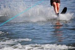 Único esqui de água Imagens de Stock