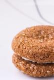 Único fim da cookie acima da foto Fotos de Stock Royalty Free