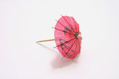 Único guarda-chuva do cocktail Foto de Stock