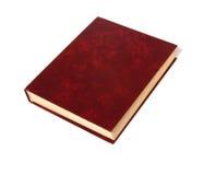 Único livro isolado no branco Imagem de Stock