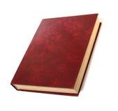 Único livro isolado no branco Imagens de Stock Royalty Free