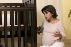 Único parenting Imagem de Stock