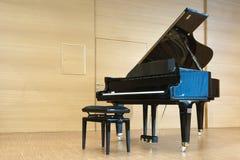 Único piano grande coloc real com asa aberta Fotografia de Stock