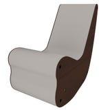 Único sofá do desenhador Imagens de Stock