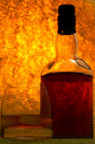 Único uísque de malte no vidro Fotos de Stock
