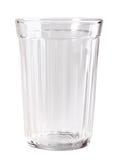 Único vidro vazio Imagem de Stock
